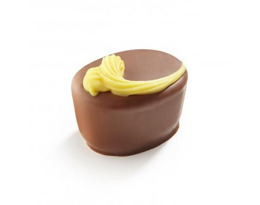Pralina z jajčnim likerjem - LaChocolate.si