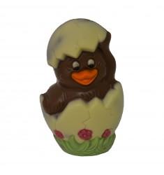 Velikonočna figura piščanček v jajčku v mlečni čokoladi