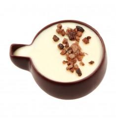 Pralna temna čokolada z vanilijevo kremo