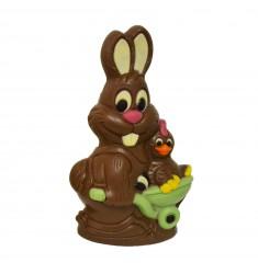 Velikonočna figura zajček in kokoška - LAChocolate.si