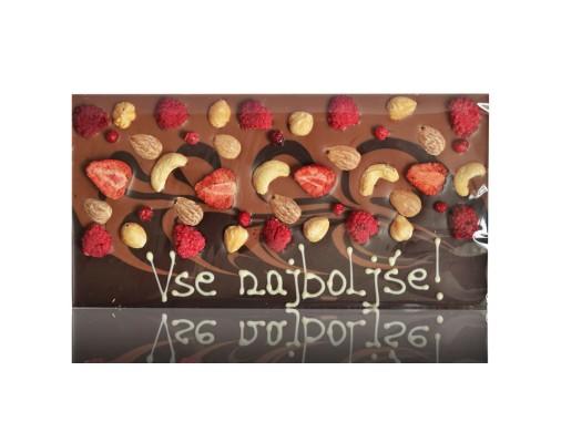 Čokolada z napisom - LaChocolate.si