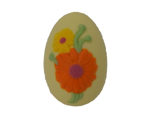 Velikonočna figura velikonočno jajce v beli čokoladi La Chocolate