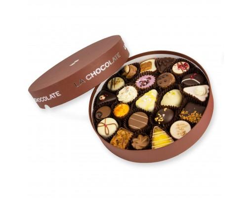 Velika La Chocolate bonboniera za 23 pralinejev