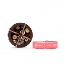 Srednja La Chocolate bonboniera za 12 pralinejev