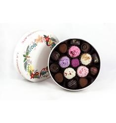 La Chocolate Božično Novoletna Bonbonijera – 12 pralin