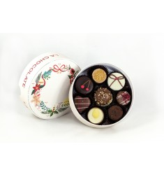 La Chocolate božično novoletna bonbonijera – 8 pralin