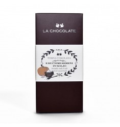 Mlečna čokolada s soljo in bučnimi semeni